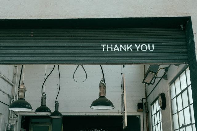 手伝ってくれてありがとう英語